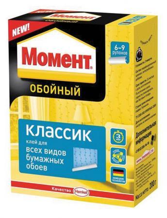 КЛЕЙ ОБОЙНЫЙ МОМЕНТ КЛАССИК 200 Г (1/24) ХЕНКЕЛЬ