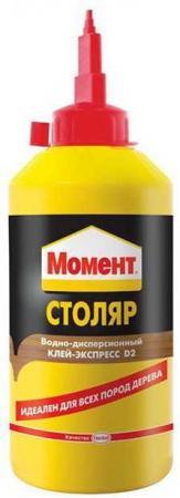 КЛЕЙ МОМЕНТ-СТОЛЯР 250 Г (1/12) ХЕНКЕЛЬ клей момент super pva 250 г