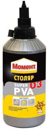 цена на Клей ПВА Henkel МОМЕНТ-СУПЕР ПВА D3 750 гр. 728120