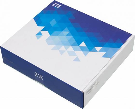 Беспроводной маршрутизатор ZTE MF283 802.11n 300Mbps 2.4 ГГц 4xLAN белый zte mf833r белый