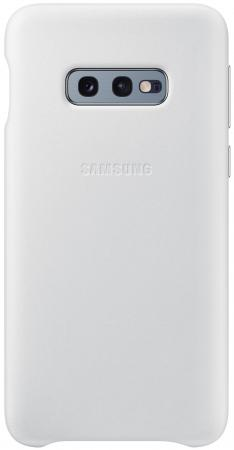 Чехол (клип-кейс) Samsung для Samsung Galaxy S10e Leather Cover белый (EF-VG970LWEGRU) клип кейс uniq samsung galaxy s10e black
