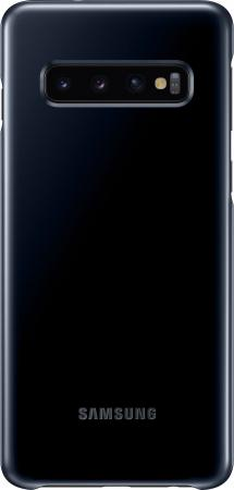 Чехол (клип-кейс) Samsung для Samsung Galaxy S10 LED Cover черный (EF-KG973CBEGRU)