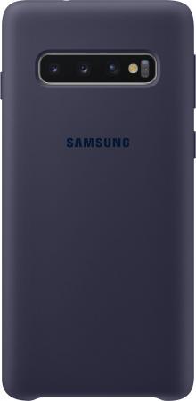 Чехол (клип-кейс) Samsung для Samsung Galaxy S10 Silicone Cover темно-синий (EF-PG973TNEGRU) клип кейс samsung silicone для samsung galaxy s10 plus [ef pg975tbegru] черный
