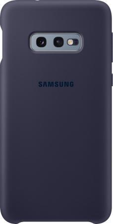 Чехол (клип-кейс) Samsung для Samsung Galaxy S10e Silicone Cover темно-синий (EF-PG970TNEGRU) чехол клип кейс samsung для samsung galaxy s10e silicone cover темно синий ef pg970tnegru
