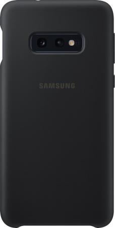Чехол (клип-кейс) Samsung для Samsung Galaxy S10e Silicone Cover черный (EF-PG970TBEGRU) чехол клип кейс samsung для samsung galaxy s10e silicone cover темно синий ef pg970tnegru