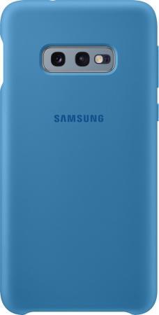 Чехол (клип-кейс) Samsung для Samsung Galaxy S10e Silicone Cover синий (EF-PG970TLEGRU) чехол клип кейс samsung для samsung galaxy s10e silicone cover темно синий ef pg970tnegru
