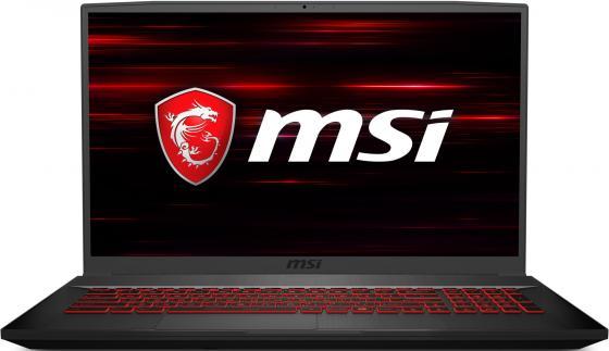 """MSI GF75 Thin 8RC-205RU 17.3""""(1920x1080 (матовый) IPS)/Intel Core i7 8750H(2.2Ghz)/8192Mb/1000+128SSDGb/noDVD/Ext:nVidia GeForce GTX1050(4096Mb)/Cam/BT/WiFi/51WHr/war 1y/2.2kg/black/W10 цены онлайн"""