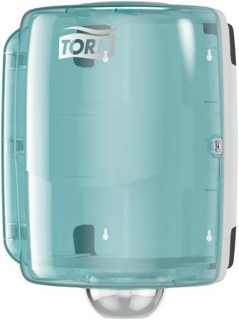 Диспенсер для протирочной бумаги TORK (W2) Performance, maxi, с центральной вытяжкой, белый, 653000 цена