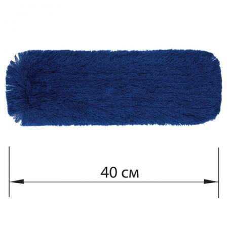 Насадка МОП плоская 40 см для швабры-рамки, К (карманы), сухая уборка, акрил, ЛАЙМА EXPERT насадка для моп лайма 40 см кремовый