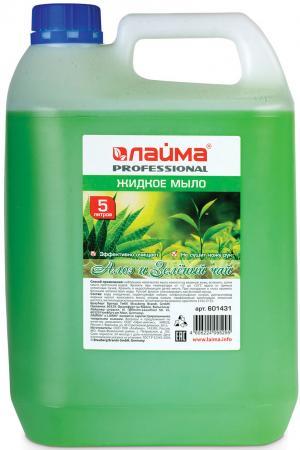 Мыло жидкое Лайма Алоэ и зеленый чай 5 л