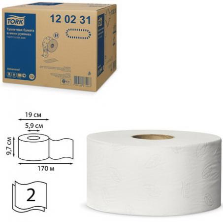 туалетная бумага tork advanced 120231 12 рул Бумага туалетная Tork Advanced 12 шт 2-ух слойная