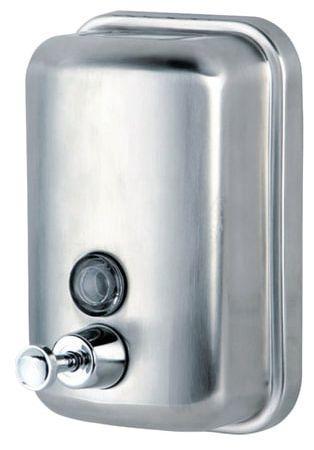 лучшая цена Диспенсер для жидкого мыла KSITEX, наливной, нержавеющая сталь, матовый, 1 л, SD 2628-1000М