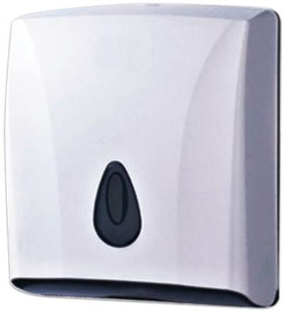 лучшая цена Диспенсер для полотенец KSITEX (Система H3), ZZ (V), белый, ТН-8228А