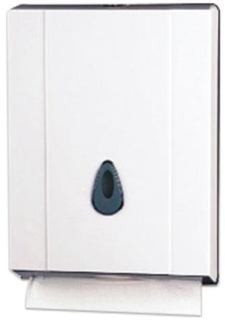 лучшая цена Диспенсер для полотенец KSITEX (Система H2), Interfold, белый, ТН-8035A