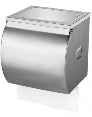 лучшая цена Диспенсер для туалетной бумаги KSITEX (Система Т4), в стандартных рулонах, нержавеющая сталь, матовый, ТН-335А