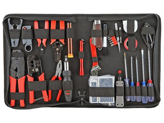 Купить со скидкой Набор инструментов Gembird TK-NETWORK 31 предмет