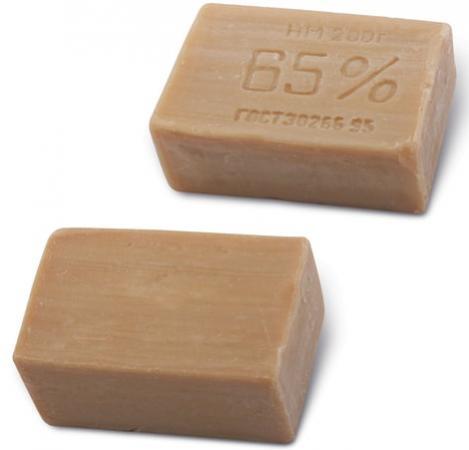Мыло хозяйственное 65%, 200 г, ЭФКО, без упаковки, Х102/1/80332