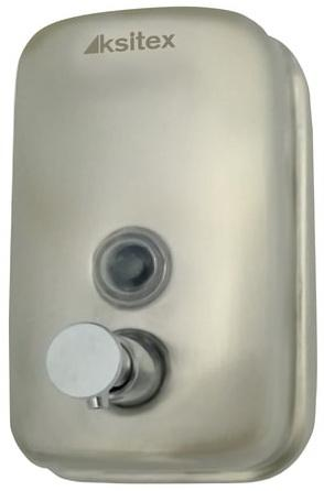 лучшая цена Диспенсер для жидкого мыла KSITEX, наливной, нержавеющая сталь, матовый, 0,5 л, SD 2628-500М