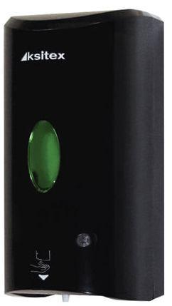 лучшая цена Диспенсер для жидкого мыла-пены KSITEX, наливной, сенсорный, черный, 1,2 л, AFD-7960В