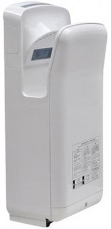 Сушилка для рук KSITEX M-6666 JET, 1900 Вт, время сушки 10 секунд, погружного типа, пластик, белая электросушилка для рук ksitex m 2008 jet white