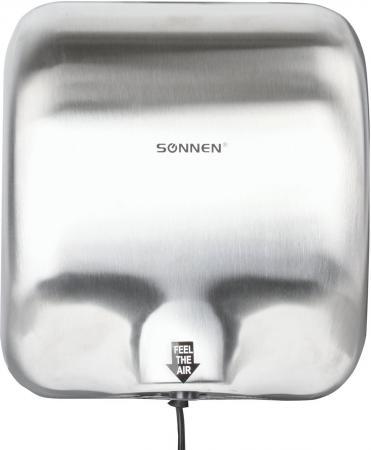 Сушилка для рук Sonnen HD-999 1800Вт серебристый цена и фото