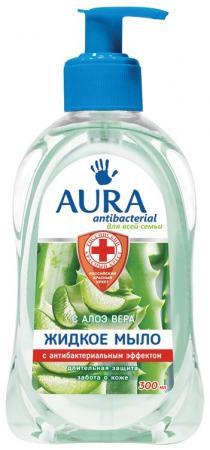 """Мыло жидкое AURA """"Antibacterial"""" 300 мл цены"""