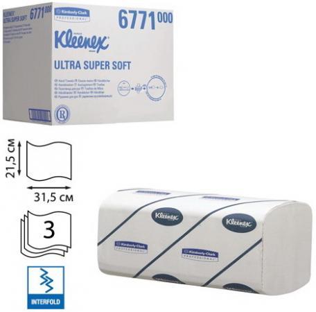 купить Полотенца бумажные KIMBERLY-CLARK Kleenex 96 шт 3-ех слойная 6771 недорого