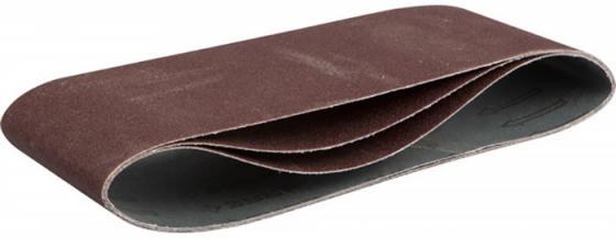 Лента шлифовальная бесконечная ЗУБР МАСТЕР на тканевой основе, для ЛШМ, P100, 100х610мм, 3шт цена