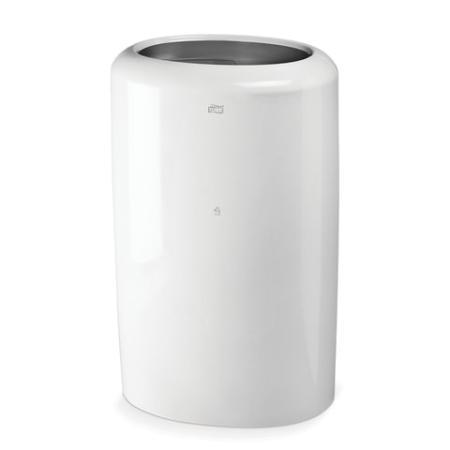 Контейнер для мусора, 50 л, TORK (B1) Elevation, белый, 62,9х38,9х28,9 см, без крышки, 563000 диспенсер для полотенец tork система h2 elevation mini interfold белый 552100