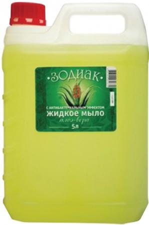 Мыло жидкое ЗОДИАК Алоэ-вера 5 л