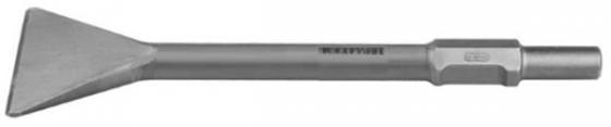 KRAFTOOL ALLIGATOR HEX 28 Зубило лопаточное 75 х 400 мм зубило зубр 29378 80 400 профессионал лопаточное для молотков hex 28мм 80х400мм