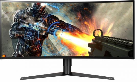"Монитор 34"" LG Gaming 34GK950G-B черный IPS 3440x1440 400 cd/m^2 5 ms HDMI DisplayPort Аудио USB 34GK950G-B.ARUZ lg 22m38d b 21 5 черный"