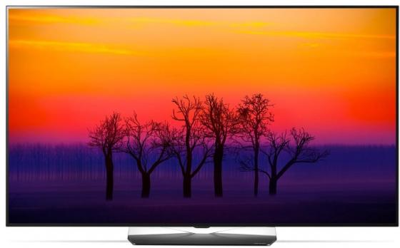 Телевизор LED 55 LG OLED55B8SLB черный серебристый 3840x2160 100 Гц Smart TV Wi-Fi RJ-45 Bluetooth S/PDIF WiDi