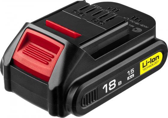 все цены на Аккумуляторная батарея 18 В, Li-Ion, 1.5 Ач, ЗУБР онлайн