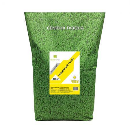 СЕМЕНА ГАЗОННОЙ ТРАВЫ НАСТОЯЩИЙ СОЛНЕЧНЫЙ 10 КГ (1) семена газонной травы настоящий спортивный 10 кг 1