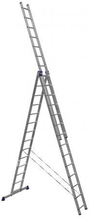 Лестница-стремянка Алюмет H3 5314 14 ступеней цена
