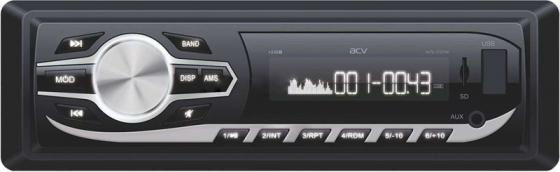 Автомагнитола ACV AVS-1724W 1DIN 4x45Вт автомагнитола acv avs 1702w