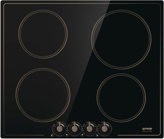 Индукционная варочная поверхность Gorenje IK640CLB черный цена и фото