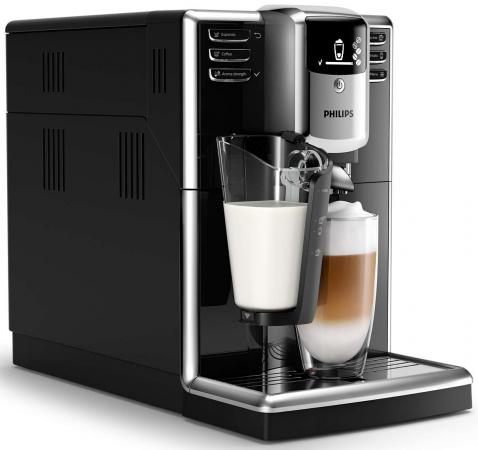 лучшая цена Кофемашина Philips Series 5000 1850 Вт серебристо-черный EP5040/10