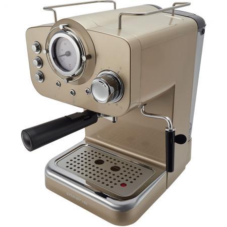 Кофеварка эспрессо Polaris PCM 1532E 1100Вт шампань цены онлайн