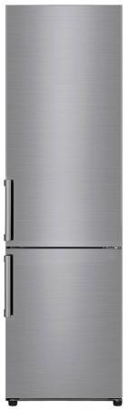 лучшая цена Холодильник LG GA-B509BMJZ серебристый