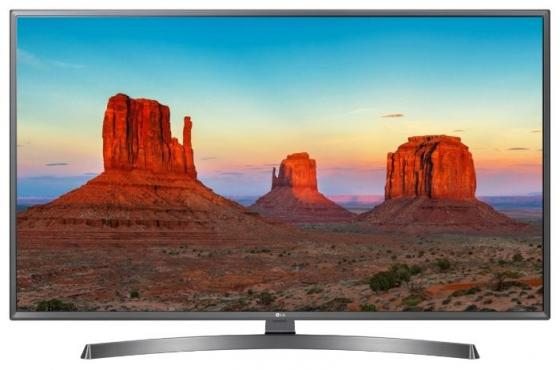 "Телевизор 50"" LG 50UK6750PLD титан 3840x2160 50 Гц Wi-Fi Smart TV RJ-45 Bluetooth S/PDIF цена и фото"