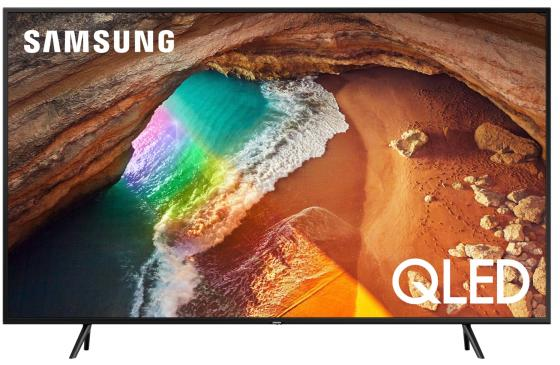 Телевизор QLED Samsung 49 QE49Q60RAUXRU титан/Ultra HD/1000Hz/DVB-T2/DVB-C/DVB-S2/USB/WiFi/Smart TV (RUS) телевизор samsung qe55q6f 55 дюймов smart tv qled