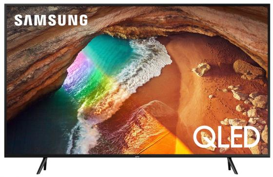 "лучшая цена Телевизор LED 65"" Samsung QE65Q60RAUXRU серебристый 3840x2160 200 Гц Wi-Fi Smart TV RJ-45 Bluetooth WiDi S/PDIF"