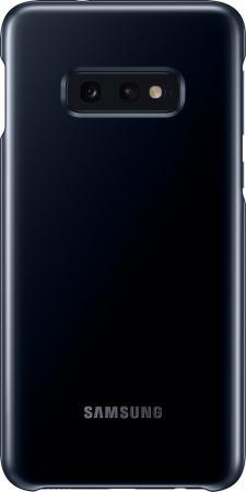 Чехол (клип-кейс) Samsung для Samsung Galaxy S10e LED Cover черный (EF-KG970CBEGRU)