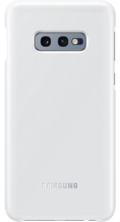 Чехол (клип-кейс) Samsung для Samsung Galaxy S10e LED Cover белый (EF-KG970CWEGRU) samsung s5230 белый