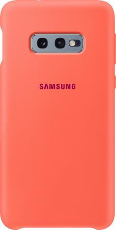 цена на Чехол (клип-кейс) Samsung для Samsung Galaxy S10e Silicone Cover розовый (EF-PG970THEGRU)