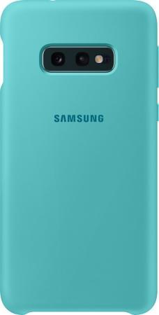 Чехол (клип-кейс) Samsung для Samsung Galaxy S10e Silicone Cover зеленый (EF-PG970TGEGRU) клип кейс uniq samsung galaxy s10e black