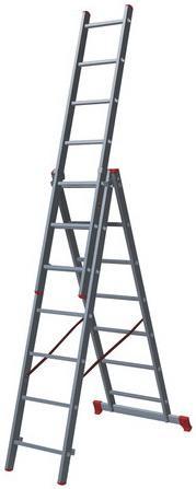 Лестница Новая высота 1230307 7 ступеней лестница новая высота приставная 10 ступеней