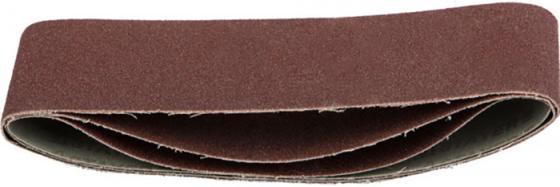 """Лента STAYER """"MASTER"""" шлифовальная универсальная бесконечная на тканевой основе, для ЛШМ, P100, 75х533мм, 3шт"""